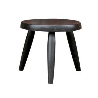 Petite Ebony Painted Side Table