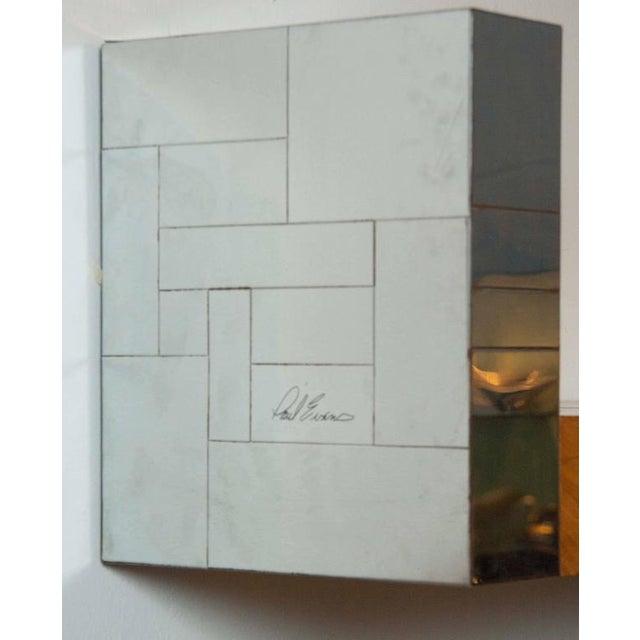Paul Evans Pair of Paul Evans Cityscape Bookshelves For Sale - Image 4 of 7