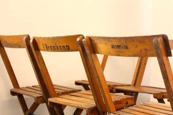 U002760s Paris Bistro Chairs   Image 10 Of 11. U0027