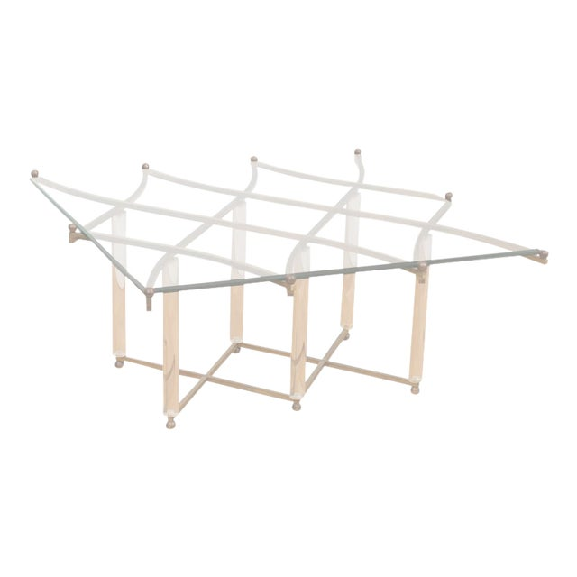 "Charles Hollis Jones ""Treillage"" Cocktail Table For Sale"
