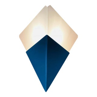 Pair of Extraordinarry Triangle Ice Glass Sconces by Kalmar, Austria, 1960s For Sale