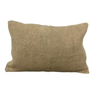 Turkish Organic Hemp Handmade Lumbar Pillow For Sale