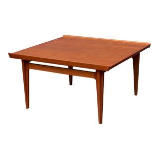 Finn Juhl Teak Coffee Table For Sale