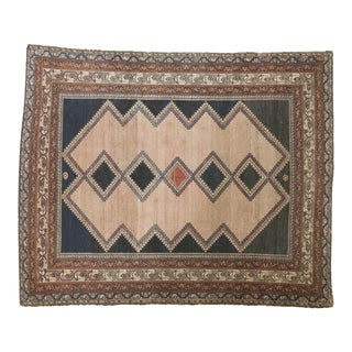 """Antique Distressed Malayer Rug - 5'2"""" X 6'3"""""""