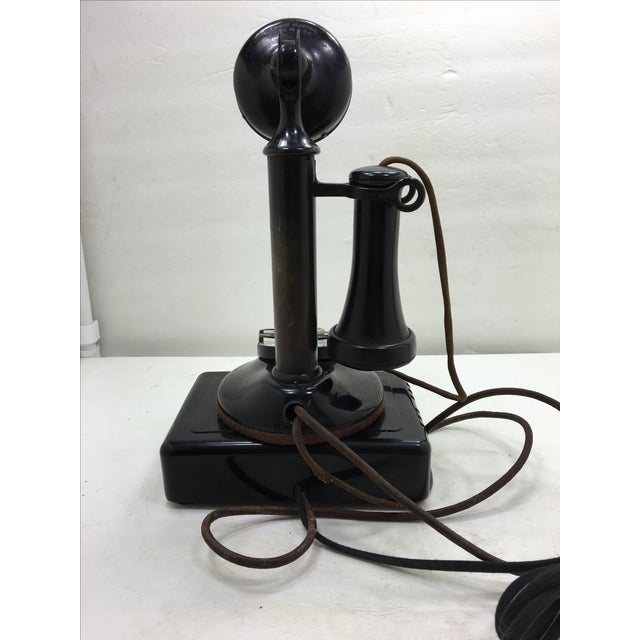 Western Electric Candlestick Rotary Dial Telephone - Image 4 of 11