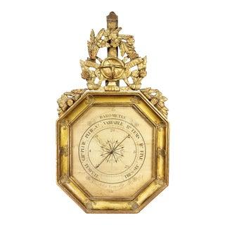 Charles X-Giltwood Barometer For Sale