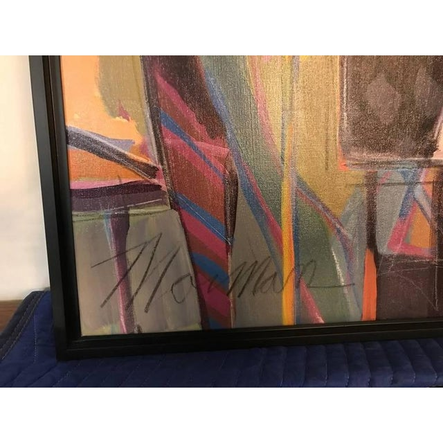 """Original Isaac Maimon Signed """"Sharing Great Times"""" For Sale - Image 9 of 10"""