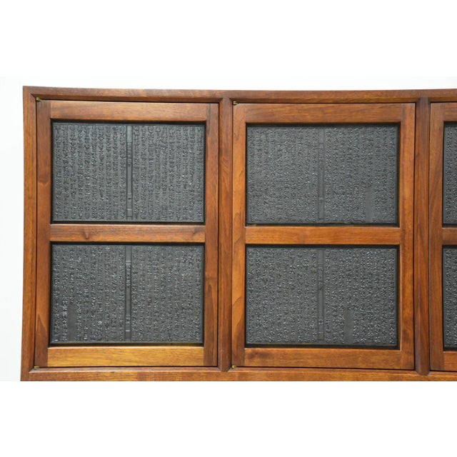 Rosewood Edward Wormley for Dunbar Janus Credenza For Sale - Image 7 of 13