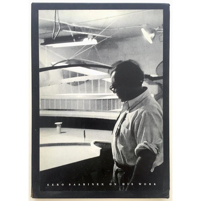 """ Eero Saarinen on His Work "" Rare Vtg 1968 Collector's Slipcase Large Hardcover Mid Century Modernism Architecture Book For Sale - Image 13 of 13"