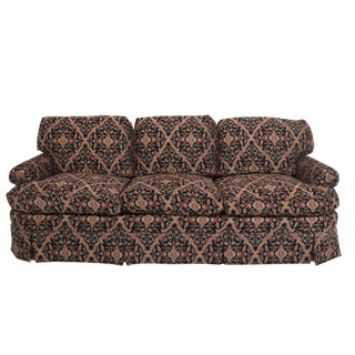 Kindel Custom Upholstered Sofa With Down Cushions For Sale