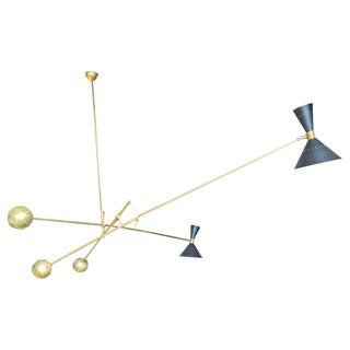 Mid-Century Modern Italian Mobile Chandelier 1960s For Sale