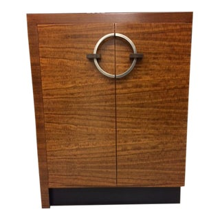 1930s Art Deco Gilbert Rohde Storage Cabinet/Chest For Sale