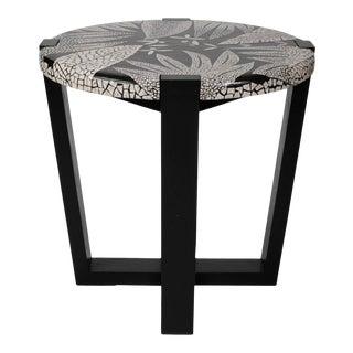Tsitsikama Ostrich Eggshell Mosaic Side Table For Sale