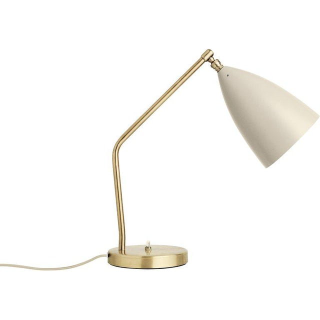 Greta Magnusson Grossman 'Grasshopper' Table Lamp in Red For Sale - Image 10 of 11