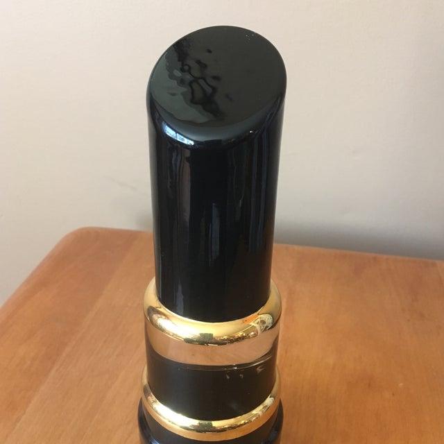 Kosta Boda Black Lipstick & Nail Polish Art Pieces - Image 7 of 11