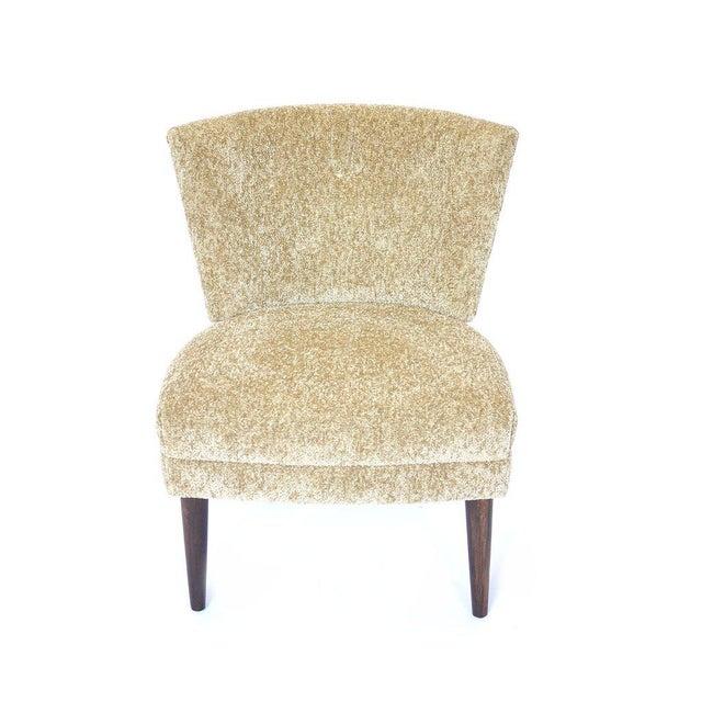 Original Hollywood Regency Kroehler Slipper Chair For Sale - Image 5 of 5