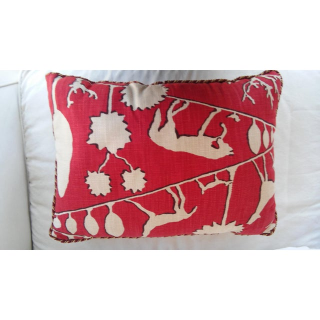 Red Southwestern Style Pillows - A Pair Chairish