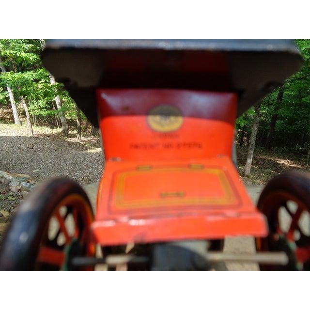 Red Vintage Model A Friction Car For Sale - Image 8 of 9