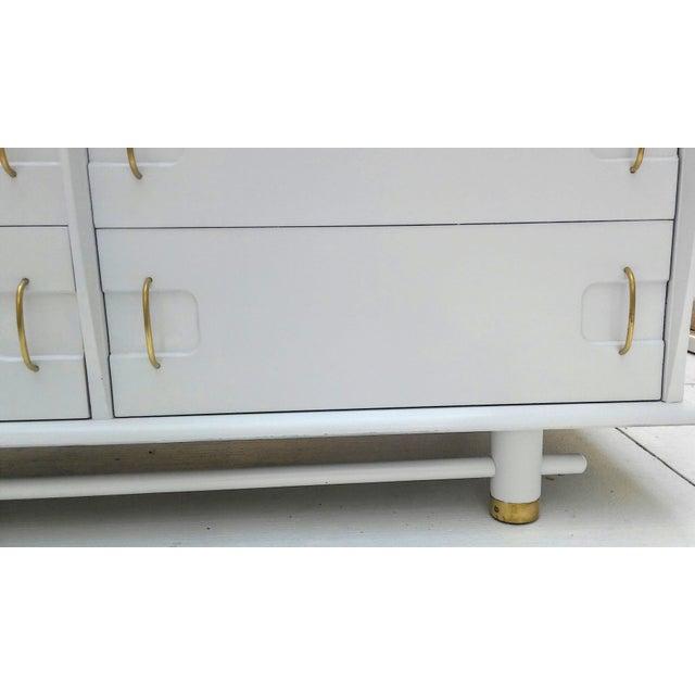 Kent Coffey Mid Century Dresser and Mirror - Image 8 of 10