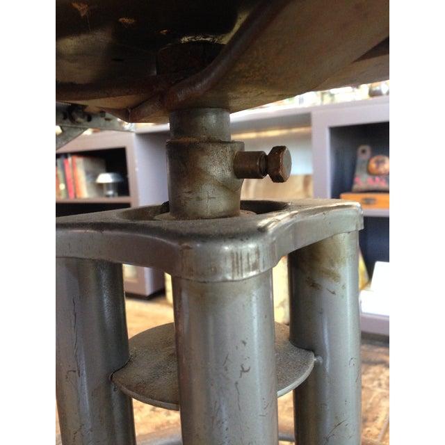 Vintage Brown Task Chair - Image 7 of 7