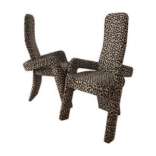 Modern 1970s Armchairs - A Pair