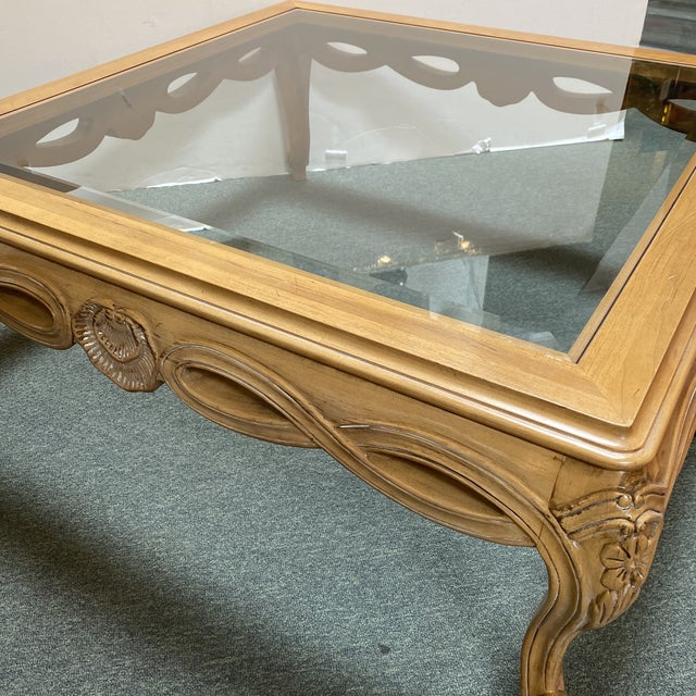 Wood Century Furniture Chardeau Collection Coffee Table For Sale - Image 7 of 12