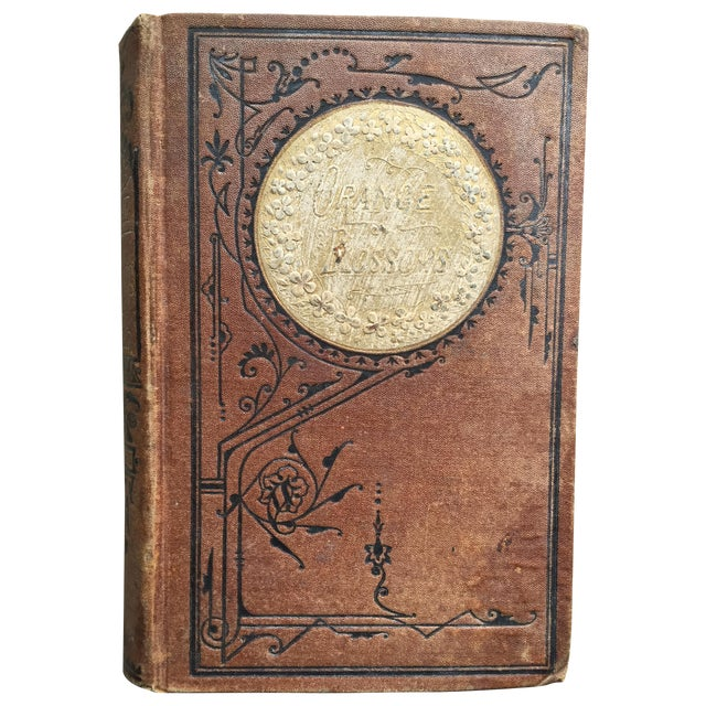 """Orange Blossoms"" Antique Gilt Book - Image 1 of 8"
