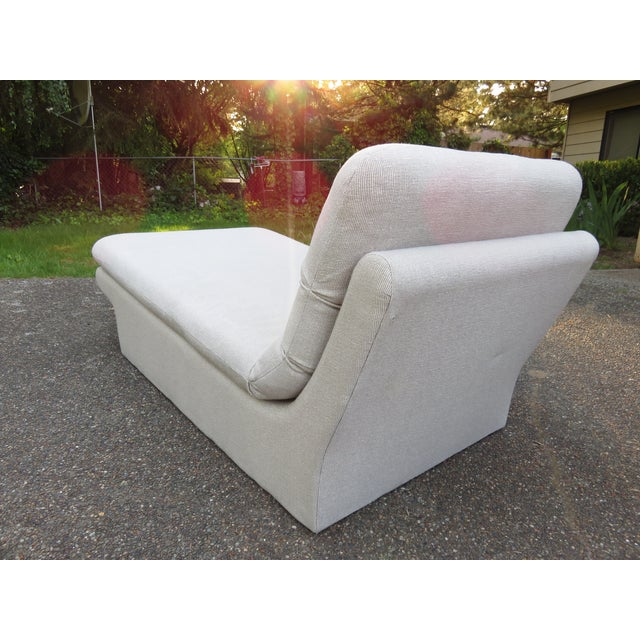 Vladimir Kagan-Style Sculptural Chaise Lounge - Image 8 of 10