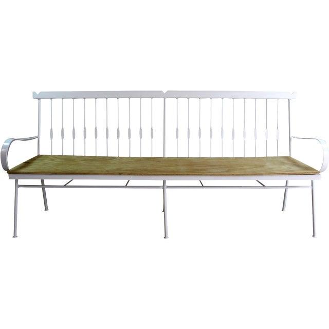 Vintage Iron Bench - Image 1 of 6