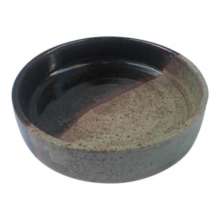 Studio Pottery Ceramic Catchall Bowl For Sale