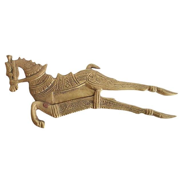 Brass Horse Betel Nut Cutter