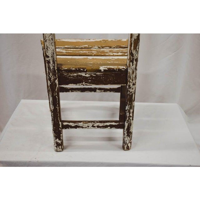 Cream Vintage Child's Chair For Sale - Image 8 of 13
