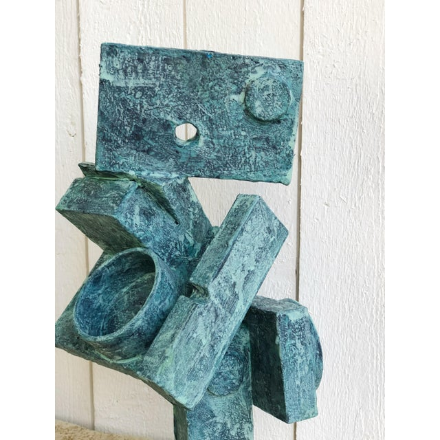 """Abstract Cubist Sculpture """"Dancer"""" by Bill Low For Sale In Portland, OR - Image 6 of 13"""