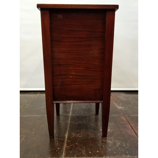 Early 20th Century Vintage English Mahogany Clock Repair Bench / Desk For Sale - Image 5 of 10