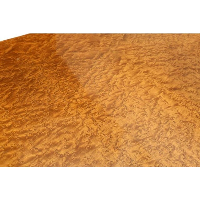 Burl Top Mid-Century Modern Coffee Table For Sale - Image 6 of 7