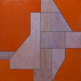 Picture of Something #3 Geometric Abstract Painting by Stephen Cimini For Sale