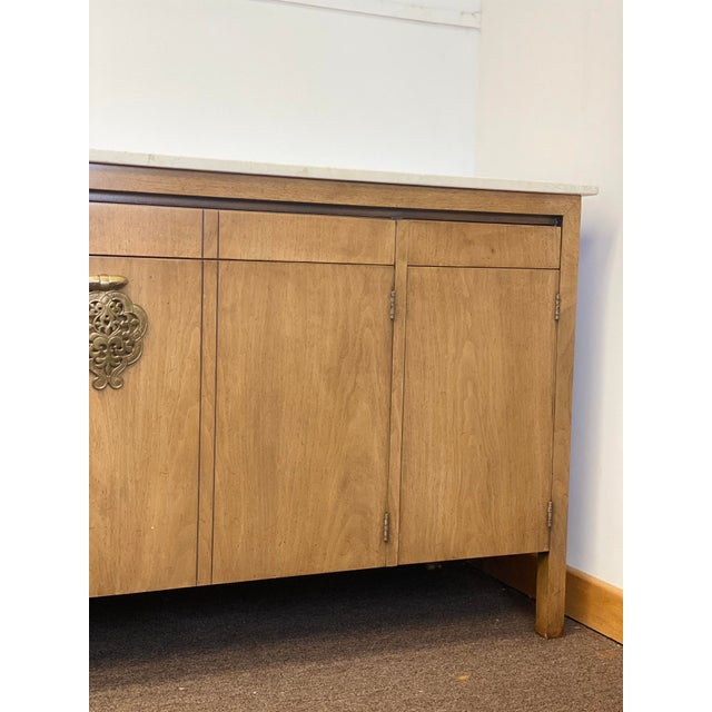 Metal 1960s Bert England for Johnson Furniture Company Credenza For Sale - Image 7 of 12