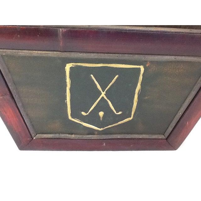 Vintage Golf Motif Box - Image 3 of 8