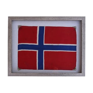 Antique Norwegian Flag For Sale