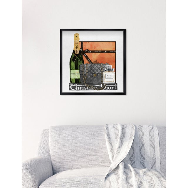 Oliver Gal 'Delicate Perfume and Books' Framed Art For Sale In Miami - Image 6 of 7
