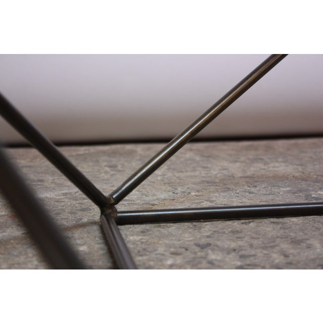 Milo Baughman for Directional Geometric Bronze Coffee Table For Sale - Image 11 of 13