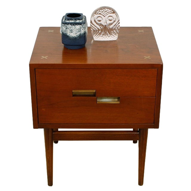 American of Martinsville Walnut Dresser Sideboard - Image 7 of 8