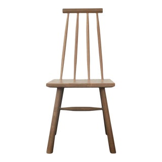 Oslo Dining Chair in White Oak For Sale