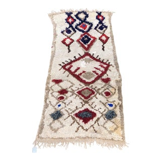 Vintage Talsint Moroccan Rug-2′11″ × 5′9″ For Sale