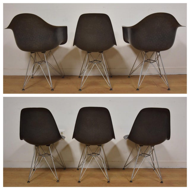 Eames for Herman Miller Dining Chairs - Set of 6 - Image 4 of 11