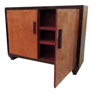 20th C Guyana Art Deco Style Cabinet For Sale