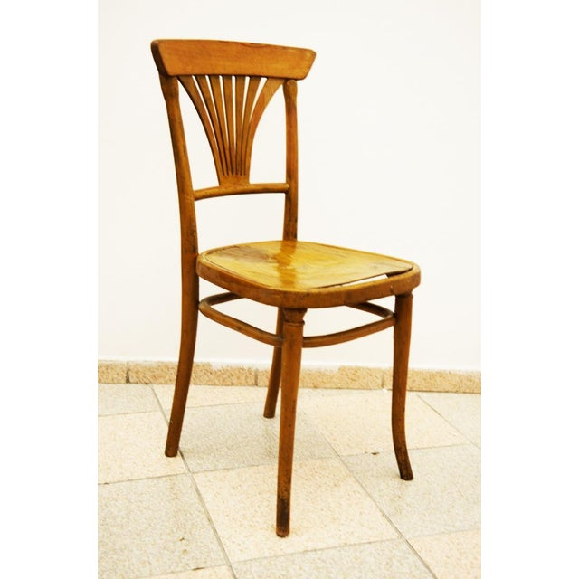 Traditional Model No. 221 Chair for Thonet, 1900 For Sale - Image 3 of 5