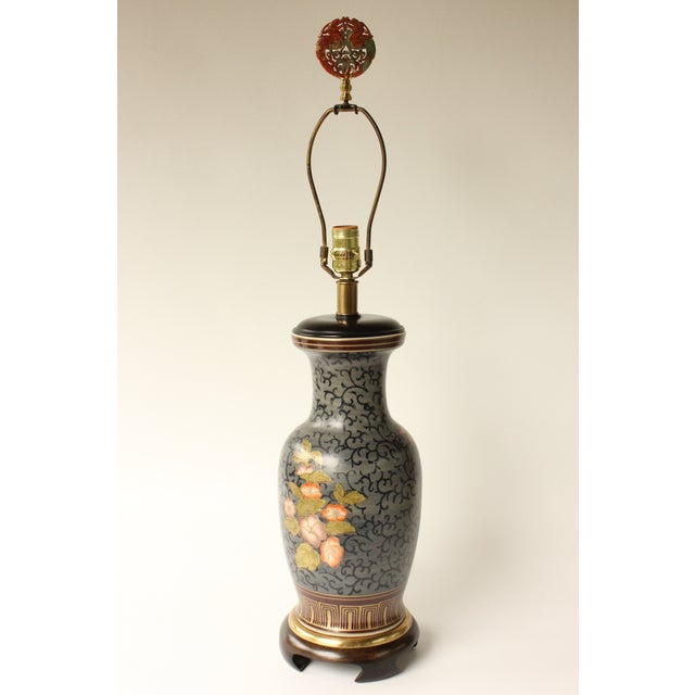 Frederick Cooper Floral Vase Table Lamp - Image 6 of 7