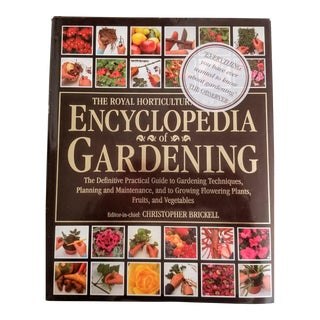 Royal Horticulture Society Encyclopedia of Gardening Book For Sale