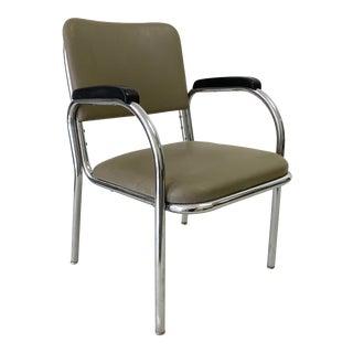 1950s Vintage Royal Metal Chrome Chair For Sale